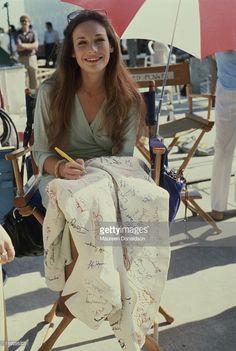 American actress Mary Crosby on the set of the television soap opera 'Dallas', circa Mary Crosby, Dallas Tv Show, Soap Opera Stars, Sexy Older Women, Celebs, Celebrities, American Actress, Actors & Actresses, Glamour