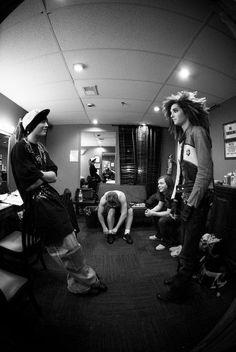Tokio Hotel, Scream America Tour. Probably one of my favorite photos.
