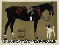 This has to be my favorite among many amazing posters by Ludwig Hohlwein.