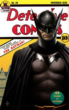 1939 Batman, reimagined (by DiegoYapur.deviantart.com)