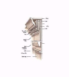 Illustration: Joe McKendry | thisoldhouse.com | from 13 Easy Door Surround Profiles From Stock Molding