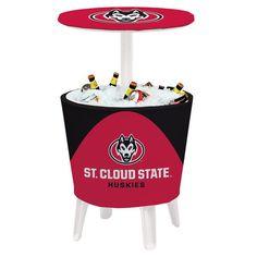 St. Cloud State Huskies Team Logo Four Season Event Cooler Table - $259.99
