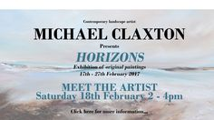 Michael Claxton Artist Solo Exhibition - Gallery Rouge St Albans