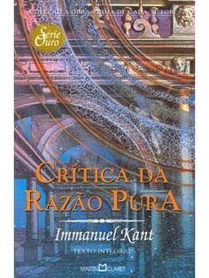 IMANNUEL KANT: CRÍTICA DA RAZÃO PURA.