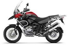 BMW R1200GS - the other 'go anywhere even though I never will' motorcycle choice...  Start saving 2x!