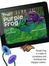 Get the Purple Frog while it's FREE (normally $3.99).  You'll find it on our daily Featured Free and Reduced Apps post where there are $55 worth of savings today! Super Lisa M