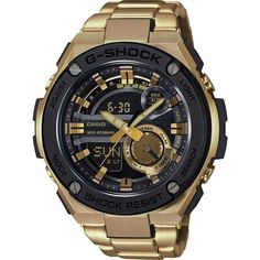 5dba5c73df2 Casio G-Shock G-Steel 3D Dial GST210GD-1ACR Watch