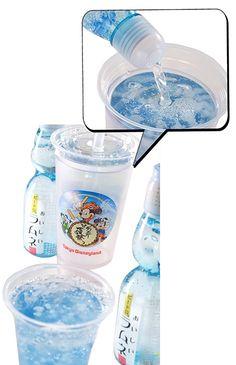 Tokyo Disneyland Lemonade ラムネゼリードリンク