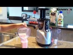 Creamy Strawberry Popsicles by Kuvings Silent Juicer