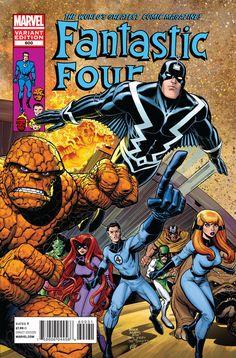 FANTASTIC FOUR #600//Arthur Adams/A/ Comic Art Community GALLERY OF COMIC ART