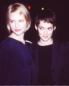 Claire Danes and Winona Ryder.