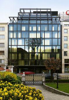 Sense Hotel / Lazzarini Pickering Architetti/ Sofia, Bulgaria © Matteo Piazza