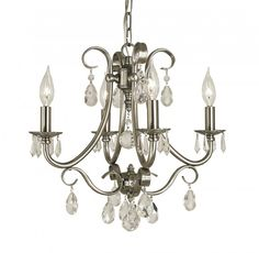 4 Light Mini Chandelier Framburg 2994 Liebestraum