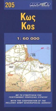 Map of kos kos greece map kos pinterest kos kos greece by road editions gumiabroncs Gallery
