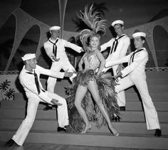 Actor and singer Rhonda Fleming opens at the Tropicana Hotel in Tropicana Hotel, Vegas Showgirl, Showgirl Costume, Havana Club, Las Vegas Nevada, Vegas 2, Dapper Day, Very Lovely, Beautiful