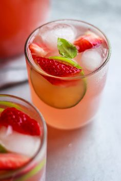 This strawberry iced tea cooler is a boost of energy and antioxidants in a highly refreshing drink.