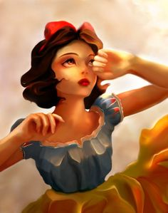 Shared by beautiful. Find images and videos about disney, princess and snow white on We Heart It - the app to get lost in what you love. Disney Pixar, Animation Disney, Disney Fan Art, Disney And Dreamworks, Walt Disney, Disney Characters, Pocahontas Disney, Disney Artwork, Disney Dream