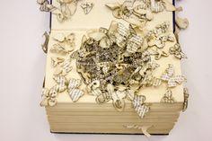 Thomas Wightman, paper art reveals struggles with OCD