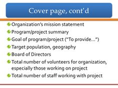 Write A Grant Proposal  Grant Proposal And Grant Writing