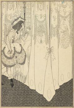 Aubrey Vincent Beardsley- Dream, 1896