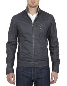 Belstaff H Racer Cardigan Jacket (same jacket worn by Jeremy Renner in Bourne Legacy)