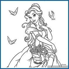 dibujos-para-colorear-de-princesas-disney-para-imprimir.jpg (791×788)