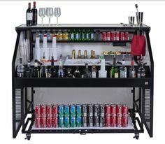 Cambro Portable Bar 540 Black | Mobile Bars Portable Event Bar ...