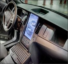 The Los Angeles Police Department (LAPD) is bringing their vision of the future police vehicle to Charlotte, N.C. for Hendon Publishing's Police Fleet Expo. From Aug. 19-22, show attendees will get to see an all new, in-dash mounted screen in Ford's Police  Interceptor Utility.