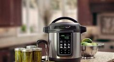 Ball(R) FreshTECH Automatic Home Canning System  Looks good, sounds easy enough.