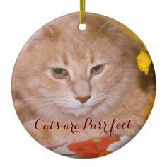 Cats are Purr fect Ornament