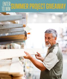 Enter to win $150 to jump start your summer DIY projects! | Brought to you by DIY Ready