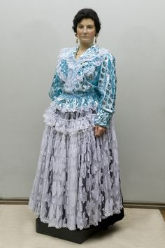 The Finnish Roma people are the only one in the world of the Roma population, which has this beautiful folk costume. And this dress is in daily use. Photo: Markku Haverinen