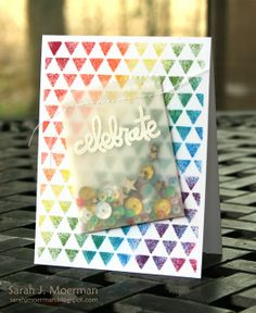 My Impressions: Paper Smooches Shaker Cards