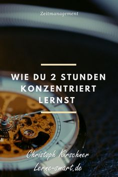 Lerne 2 Stunden konzentriert und effizient für Schule Studium oder Beruf Do you need a tip for your time management in school or university? Learn how to spend two hours learning effectively and focused. Elementary Physical Education, Art Education, Study Motivation, Study Tips, Chocolate Desserts, Time Management, Good To Know, Knowledge, University