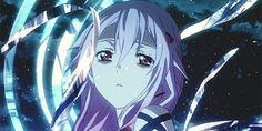 anime, anime girl, awesome, cool, cute, gif, girl, guilty crown, inori ...