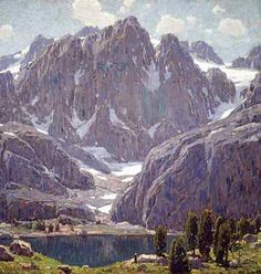 Edgar Payne (1883-1947) Rugged Peaks Courtesy of The Irvine Museum