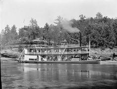 """Apollo No. 1"" Steamboat at Larks Hotel"
