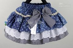 Girls Skirts Multi-layer cake skirt with bow Children Jeans skirts Lattice skirts, Girls Skirts Multi-layer cake skirt with bow Children Jeans skirts Lattice skirts 2017 Girls Skirts Multi Layer Cake Skirt With Bow Children Jeans Ski. Little Girl Skirts, Baby Girl Skirts, Baby Skirt, Mom Dress, Baby Dress, Kids Mode, Toddler Skirt, Girl Dress Patterns, Baby Sewing