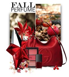 """""""Fall Perfume 2"""" by cerry71 ❤ liked on Polyvore featuring beauty, Humör, Gucci, Forever 21, NARS Cosmetics and Thierry Mugler"""