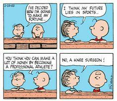 First Appearance: February Peanuts Cartoon, Peanuts Snoopy, Peanuts Comics, Linus Van Pelt, Funny Bones, Good Ol, Hobbs, Vintage Postcards, Grief