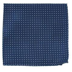 Hugo Boss Mens 100/% Wool Dotted Print Pocket Square