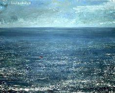 strange composition and a cold painting Sky Painting, Seascape Paintings, Landscape Paintings, Landscapes, Modigliani, Kurt Jackson, Coastal Art, Art For Art Sake, Large Canvas