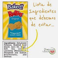 Lista de Ingredientes que debemos evitar – @Odise Mattleñando Tu Salud