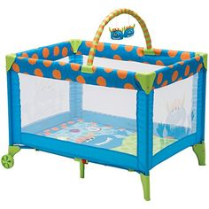 Amazon.com : Cosco Funsport Deluxe Play Yard, Monster Shelley : Baby