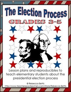 Lesson plans and reproducibles for teaching the presidential election process, from nominations to inauguration! $