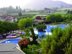 """La meravigliosa vista del """"Hotel Rêve Abano"""" Natura, relax & ambiente curato  http://www.hotelreve.com/"""
