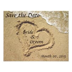 ShoppingBeach Wedding Save the Date invitationsonline after you search a lot for where to buy