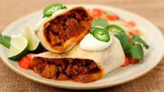 Chicken Chili Burritos