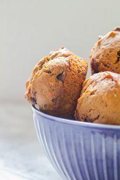 Chocolate Chunk Coffee Muffins | The Chef Next Door