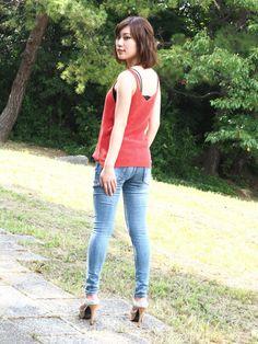 Gorgeous Heels, Skinny Jeans, Tops, Women, Fashion, Moda, Fashion Styles, Fashion Illustrations, Fashion Models